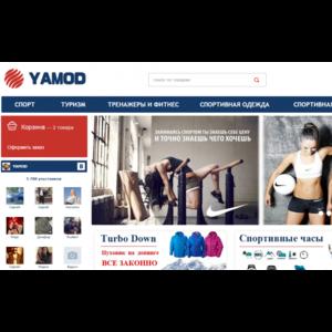 Сайт Интернет-магазин «YAMOD.RU» фото