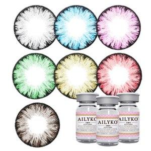 Контактные линзы цветные  Ailyko Gray фото