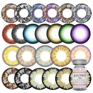 Контактные линзы цветные  AILYKO фото
