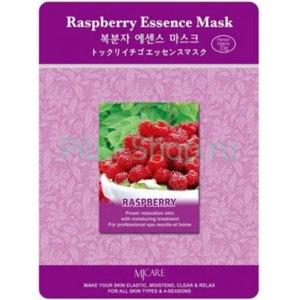 Тканевая маска для лица Mijin Raspberry Essence Mask фото