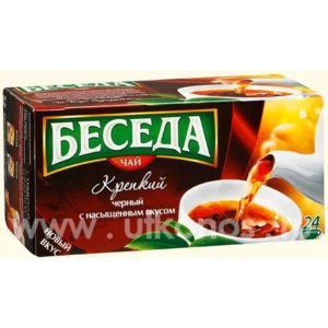 Чай в пакетиках Беседа Крепкий фото