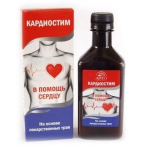 БАД AVEO Бальзам для сердца Кардиостим ( в помощь сердцу) на основе лекарственных трав фото