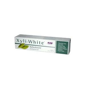 Зубная паста Now Foods Xyli•White Toothpaste Gel, Fluoride Free, Refreshmint фото