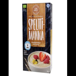 Крупа манная Sunspelt из спельты speltti manna organic фото
