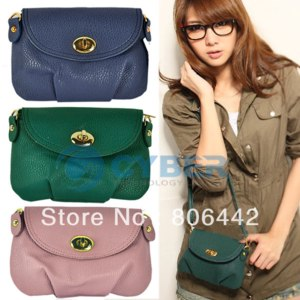 Сумка-клатч Aliexpress Ladies Shoulder Bag Soft PU Leather Messenger Handbag 7 Colors фото