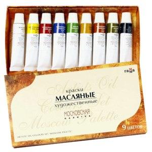 Краски  масляные московская палитра фото