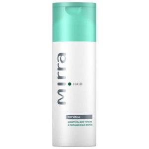 Шампунь Мирра для тонких и окрашенных волос с протеинами злаков и аминокислотами фото