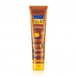 Солнцезащитный крем Eveline SPF30 Q 10 фото