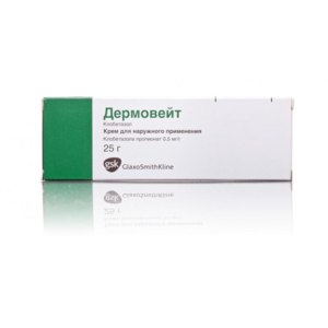 Гормональные препараты GlaxoSmithKline Pharmaceuticals SA Дермовейт фото