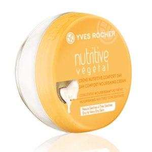 Крем для лица Ив Роше / Yves Rocher NUTRITIVE VEGETAL Питание и Комфорт 24Ч фото