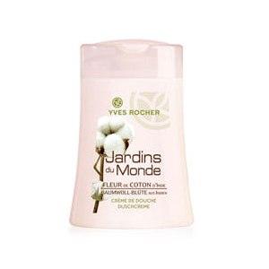 """Гель для душа Ив Роше / Yves Rocher Les Jardins du Monde """"Цветок Хлопка Индии"""" фото"""