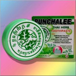 Зубная паста Punchalee thai herb toothpaste фото