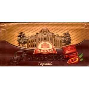 Шоколад Бабаевский Горький фото
