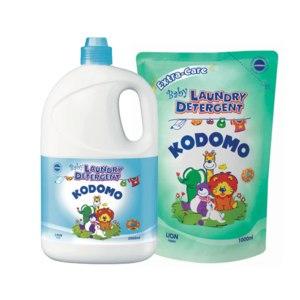 Средство для стирки Lion Kodomo Baby Laundry Detergent фото