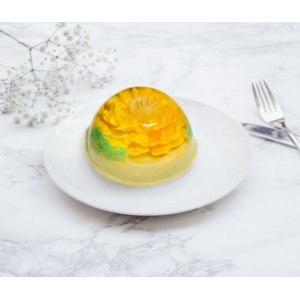 Десерт Славна Парфе с бисквитом и ананасом фото