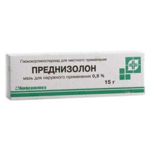 Мазь для наружного применения Биосинтез Преднизолон 0,5 % фото