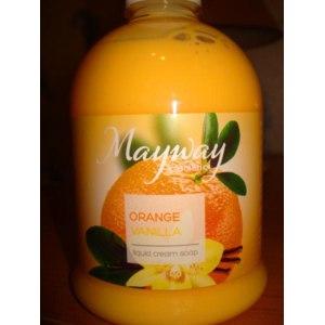 Жидкое крем-мыло Mayway Апельсин-Ваниль фото