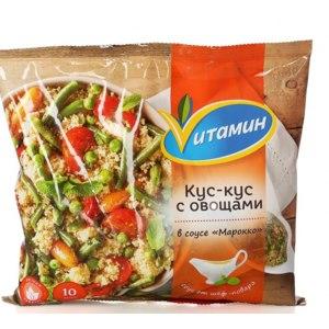 Овощи замороженные Vитамин Кус-кус с овощами фото
