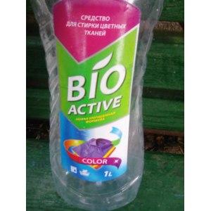 Средство для стирки цветных вещей Алабино BIO ACTIVE фото