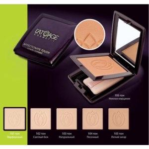 Компактная пудра L'ATUAGE Cosmetic AFFECTIONATE TOUCH фото