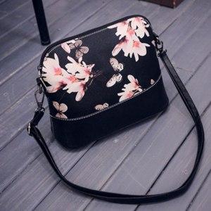 Сумка Женская Aliexpress Fashion Women Lady Shoulder Bag Messenger Cross Body Satchel Bag Handbags Flower Printing Designer Bolso 2016 Hot Sale фото