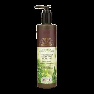 Бальзам для волос Planeta Organica  Тибетский травяной бальзам. Объем и сила для всех типов волос. фото