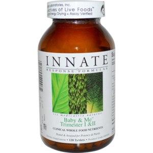 Витамины Innate Response Formulas Baby & Me Trimester I & II для планирующих и беременных фото