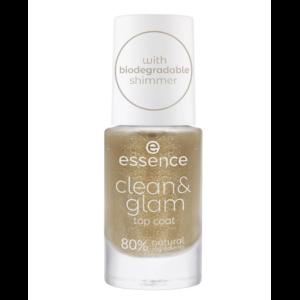 Верхнее покрытие лака для ногтей Essence Clean & Glam  фото