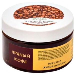 Кофейный скраб для тела Levrana «Пряный кофе»  фото