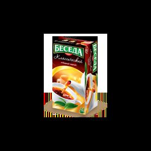 Чай в пакетиках Беседа «Классический» (отборный черный) фото