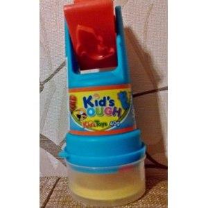Набор пластилина Kids dough со штампом и роллером фото