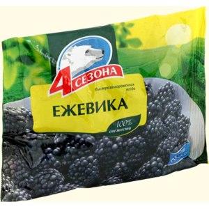 Ягоды замороженные 4 сезона Ежевика фото