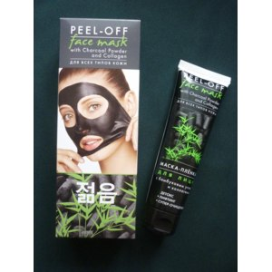 "Маска-пленка для кожи лица ТМ ""Beauty Body"" Peel-off face mask с бамбуковым углем и коллагеном фото"