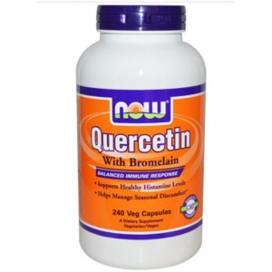БАД Now Foods Now Foods, Quercetin with Bromelain фото