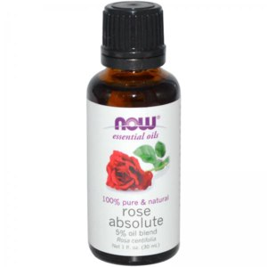 Эфирное масло Now Foods Essential Oils Rose Absolute фото