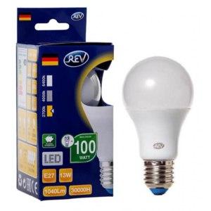 Лампа светодиодная REV LED Е27 13Вт 220V 4000К фото