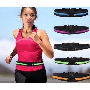 Поясная сумка для бега Aliexpress Outdoor Sports Lightweight Flexible Waist Bag with Earphone Hole OS590-OS594 фото