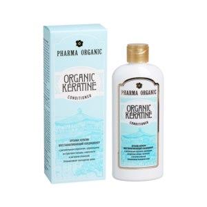 Кондиционер для волос Green Pharma Organic Keratine останавливающий выпадение волос фото