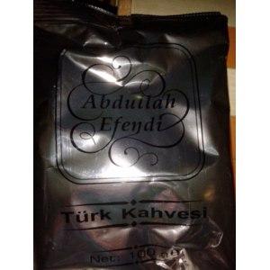 Кофе молотый Abdullah Efendi Турецкий фото