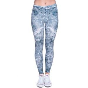 Лосины AliExpress Mix City 2016 New Women Dress Casual Fashion Women Pants Leggins 3D Digital Van Print Leggings for Women New Drop Shipping фото