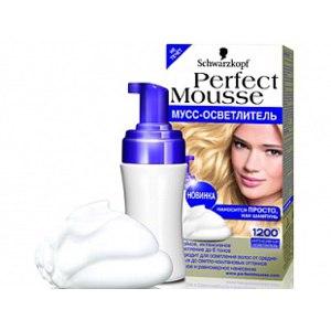 Мусс-осветлитель для волос Schwarzkopf Professional Perfect Mousse фото