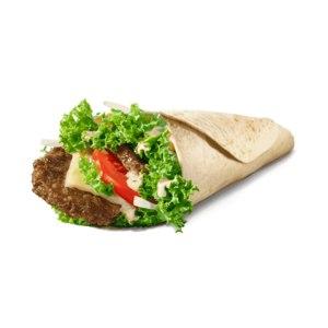 Фастфуд McDonald's / Макдоналдс Биг Тейсти Ролл фото