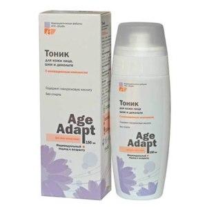 Тоник ЭЛЬФА для лица,шеи и декольте  Age Adapt 150мл. Для всех типов кожи. После 30-ти фото