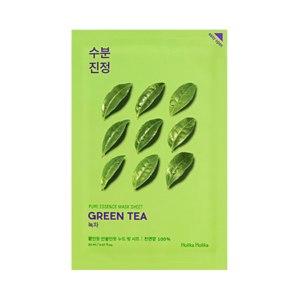 Тканевая маска для лица Holika Holika Pure Essence Mask Sheet Green tea фото
