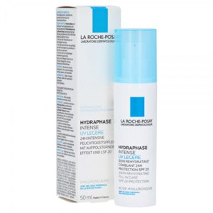 Крем для лица La Roche Posay Hydraphase Intense UV Legere Soin Rehydratant Comblant 24h Protection SPF 20 фото