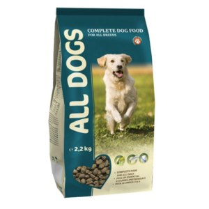 Полнорационный корм для взрослых собак All Dogs фото