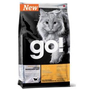 Корм для кошек Go natural GO! SENSITIVITY + SHINE™ LIMITED INGREDIENT DUCK RECIPE FOR CATS фото