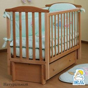 Кроватка  Кубаньлесстрой Лютик АБ 15.3 фото