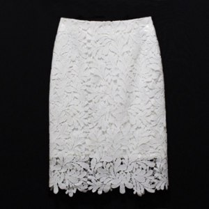 Юбка AliExpress Women Knee Length Lace Pencil Skirts FashionSaias Femininas 2016 New Black White Female Ladies Slim Office фото