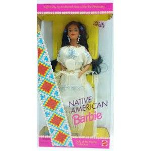Barbie Mattel Doll of The World (Куклы мира). Native American 1992 фото